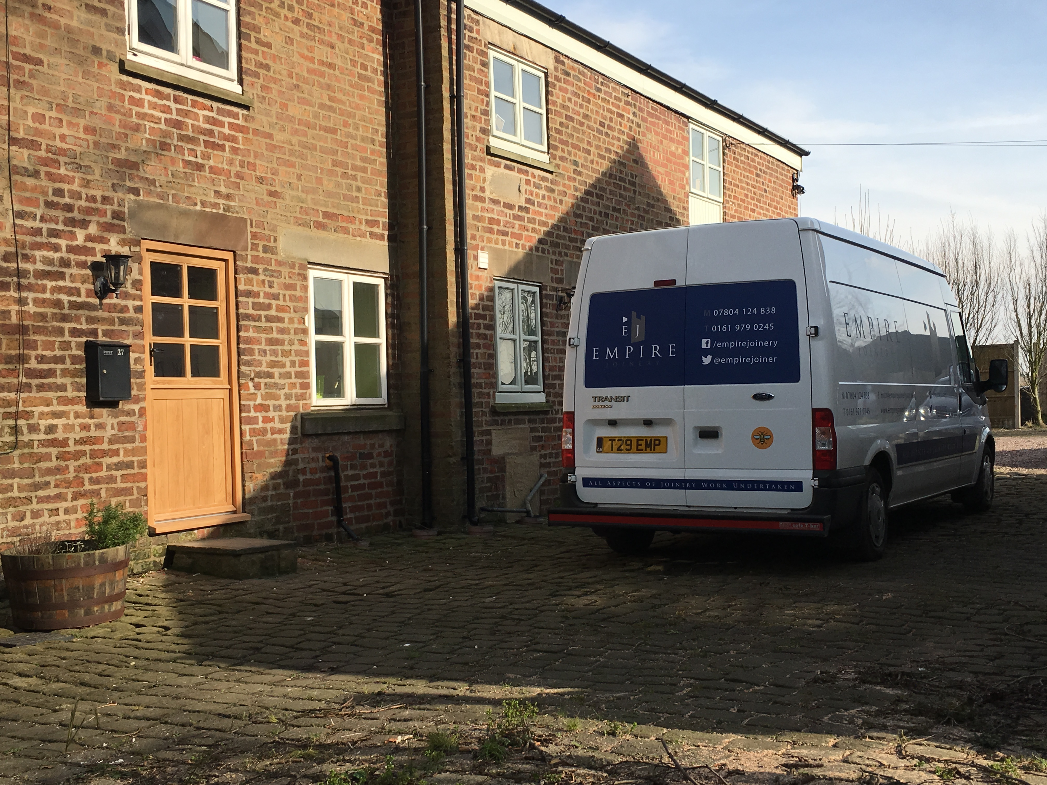 Stable and French door installation